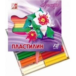 фото Набор пластилина воскового мягкого Луч «Премиум»: 12 цветов