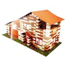 фото Конструктор из кирпичиков Karras «Дом с гаражом»