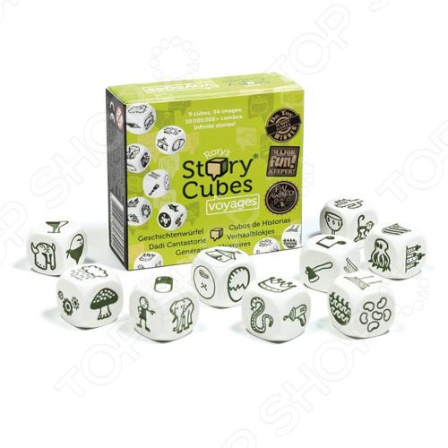 Игра настольная Rory's Story Cubes Кубики Историй «Путешествия» story cubes кубики историй животные