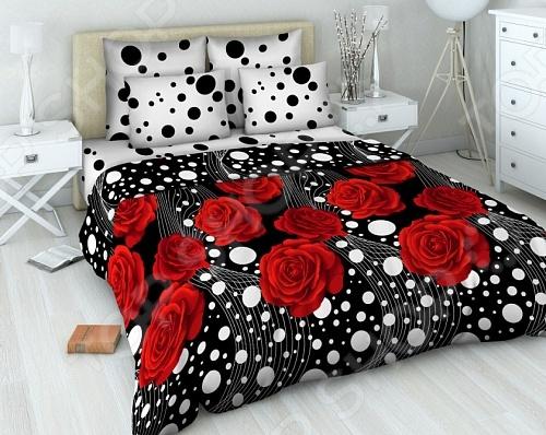 Комплект постельного белья Василиса «Комильфо» комплект семейного белья василиса нежная роза 4172 1 70x70 c рб