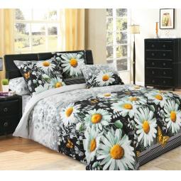 фото Комплект постельного белья Королевское Искушение «Ярославна». 2-спальный. Размер простыни: 220х240 см
