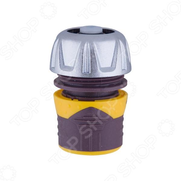 Коннектор с аквастопом Brigadier 84073 коннектор park 3 4 с аквастопом