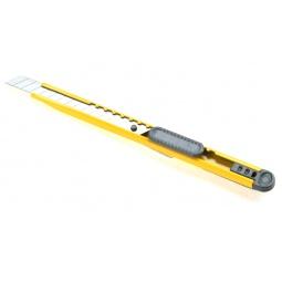фото Нож канцелярский Office Force Stationery с автоблокировкой.. Цвет: желтый