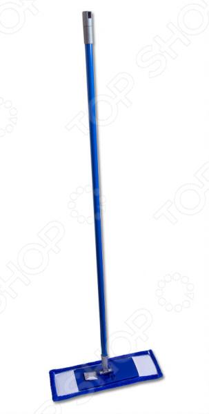 Швабра EUROTEX 080401-001-001Швабры и щетки<br>Швабра EUROTEX 080401-001-001 удобное и практичное приобретение для вас и вашего дома! Удобная конструкция оснащена прочной металлической ручкой, длина которой составляет 120 см. Эту швабру также можно использовать в труднодоступных местах. Прекрасный результат уборки гарантирует съемная насадка с невысоким ворсом из микрофибры, которая бережно очищает такие поверхности как кафель, мраморной пол, паркет, ламинат или линолеум. Особое преимущество этого материала заключается в том, что он не оставляет следов и разводов на полу, поэтому вам не придется тратить большое количество чистящих средств. Насадка имеет прямоугольную форму, что делает её очень производительной и практичной. Такая форма также способствует равномерному распределению давления на пол, поэтому результат будет везде одинаковый. Чтобы насадка прослужила вам как можно дольше рекомендуется:  стирать вручную и в стиральной машине;  не использовать отбеливатели или кондиционеры для белья;  выбирать температурный режим в диапазоне от 60 до 90 С;  не кипятить.<br>