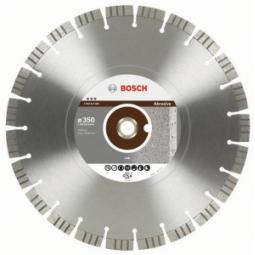 Купить Диск отрезной алмазный для угловых шлифмашин Bosch Best for Abrasive 2608602688