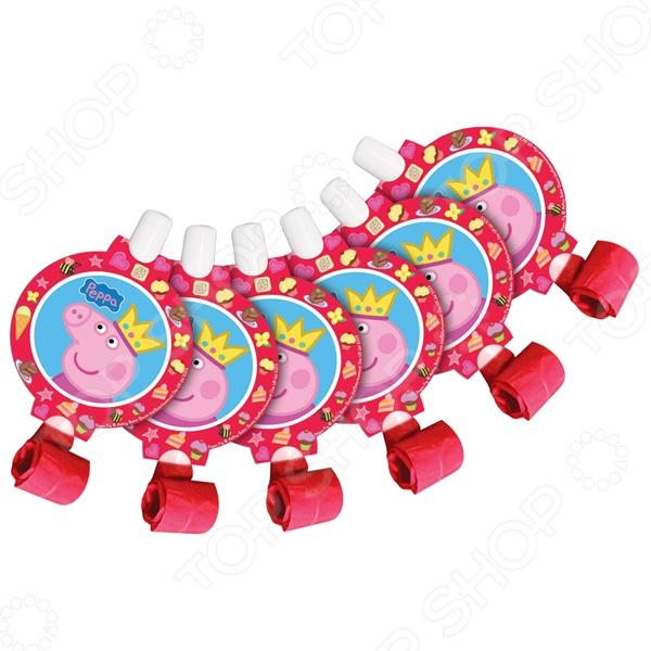 Набор язычков Росмэн 28558 «Peppa Pig. Принцесса» росмэн игровой набор самолет peppa pig