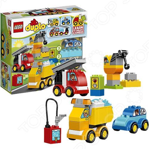 Конструктор игровой LEGO «Мои первые машинки» творческих занятия мои первые шедевры веснушки конопушки 1034