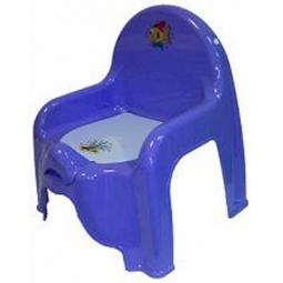 фото Горшок-стульчик IDEA М 2596. Цвет: сиреневый