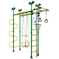 фото Детский спортивный комплекс Карусель Пегас. Цвет: зеленый