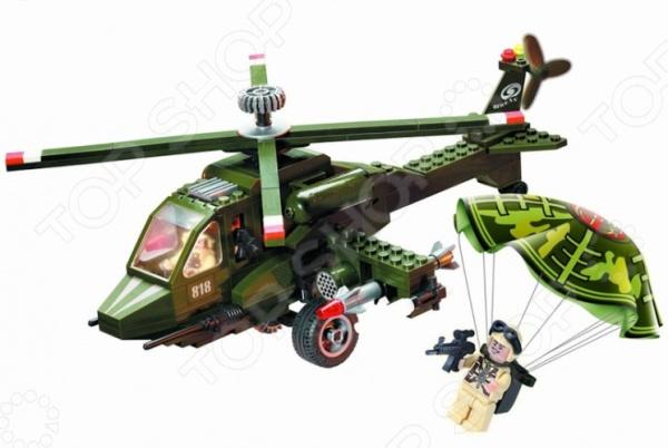Игровой конструктор Brick «Вертолет» 818 конструктор brick вертолет 275 элементов 818