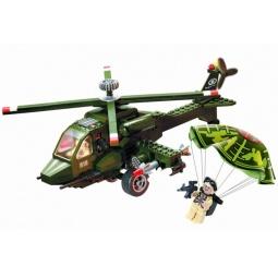 фото Игровой конструктор Brick «Вертолет» 818
