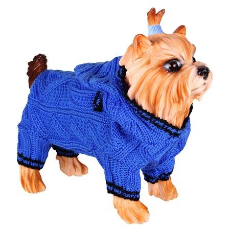 Купить Свитер для собак DEZZIE «Скай». Цвет: синий