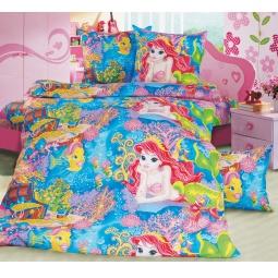 фото Ясельный комплект постельного белья Бамбино «Морская сказка»