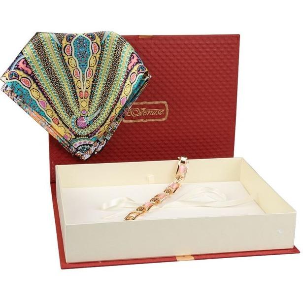 фото Набор: платок шейный и браслет Venuse 73022
