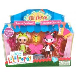 фото Набор игровой для девочек Lalaloopsy Mini. Веселый мим и Цветочная фея