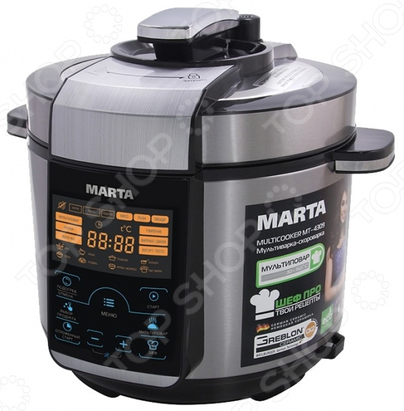 Marta MT-4310, Black Red мультиварка