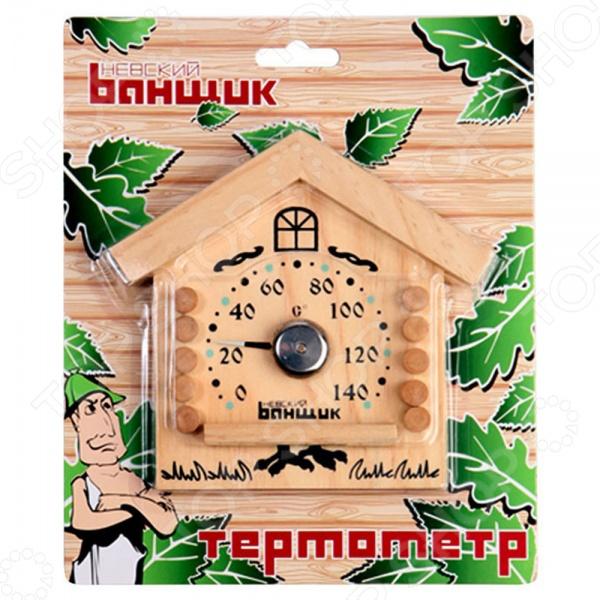 Термометр для бани и сауны EVA «Избушка»