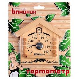 фото Термометр для бани и сауны EVA «Избушка»