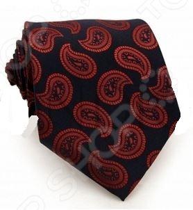 Галстук Mondigo 33446Галстуки. Бабочки. Воротнички<br>Галстук Mondigo 33446 это стильный мужской галстук черного цвета из высококачественной микрофибры, украшенный рисунком красного цвета. Галстук давно стал неотъемлемым аксессуаром мужского гардероба. Многие мужчины, предпочитающие костюмы или же вынужденные носить их по долгу службы, знают, что галстук это способ придать индивидуальности. Правильно подобранный галстук может многое рассказать о его владельце: о вкусе, пристрастиях и характере мужчины. Галстук сделан из качественного материала, который хорошо держит узел.<br>