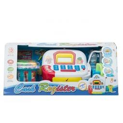 фото Игровой набор для девочки Shantou Gepai «Касса электронная с набором продуктов и сканером»