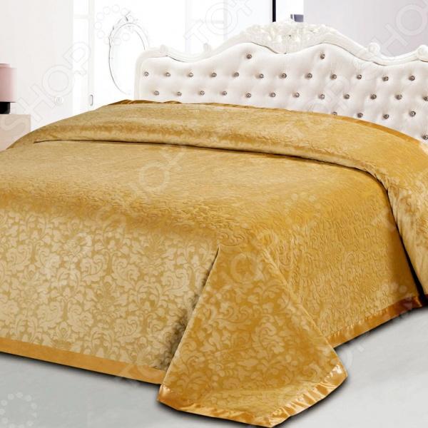 Покрывало Softline КристинаПокрывала<br>Покрывало Softline Кристина - это высококачественная модель, которая подарит вам тепло и поможет преобразить спальную комнату. Мягкое, теплое и приятное на ощупь покрывало согреет даже в самые холодные вечера и ночи, а стильный и красивый дизайн изделия придаст комнате изысканность и неповторимый шарм, и добавит изюминки в интерьер комнаты. Покрывало выполнено из высококачественных материалов, что позволяет значительно продлить срок службы изделия. Размер изделия: 220х240см. Покрывало поставляется в прозрачной упаковке.<br>