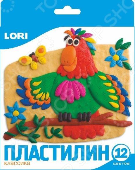 Набор пластилина Lori 29957 всё для лепки lori объемная лепка из пластилина китеж град церковь и колокольня