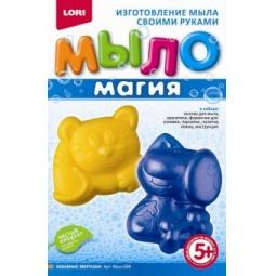 Купить Набор для изготовления мыла Lori «Магия. Забавные зверушки»