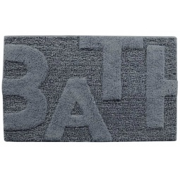 фото Коврик для ванной Spirella Bath. Цвет: серый