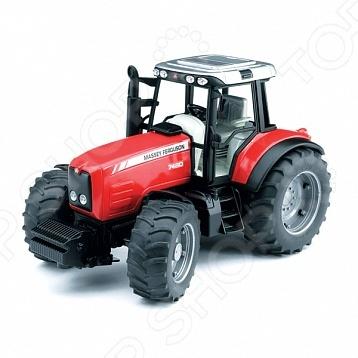 Трактор игрушечный Bruder Massey Ferguson 7480 bruder игрушечный дровокол posch