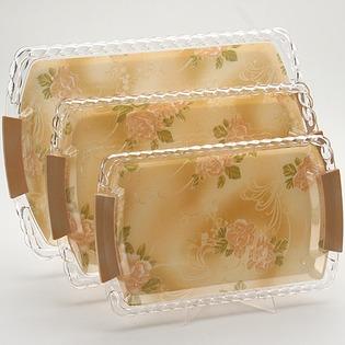 Купить Набор подносов Mayer&Boch MB-3248 «Чайная роза»