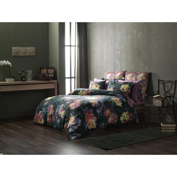 фото Комплект постельного белья Tac Midnight Bloom. 2-спальный