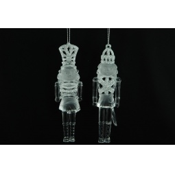 фото Елочное украшение Crystal Deco «Щелкунчик». В ассортименте. Цвет: серебристый
