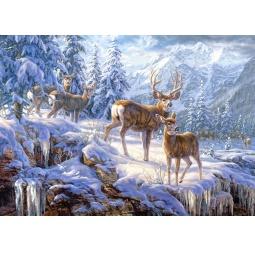 Купить Пазл 1000 элементов Castorland «Зимние горы»