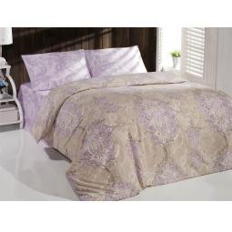 фото Комплект постельного белья Casabel Empire. 1,5-спальный. Цвет: сиреневый