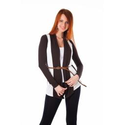 фото Кардиган Mondigo 8513. Цвет: коричневый. Размер одежды: 46