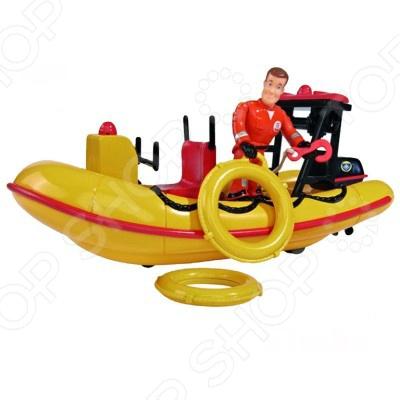 Набор игровой для мальчика Simba с фигуркой «Лодка спасателей» simba simba игровой набор домик миши с фигуркой и аксессуарами