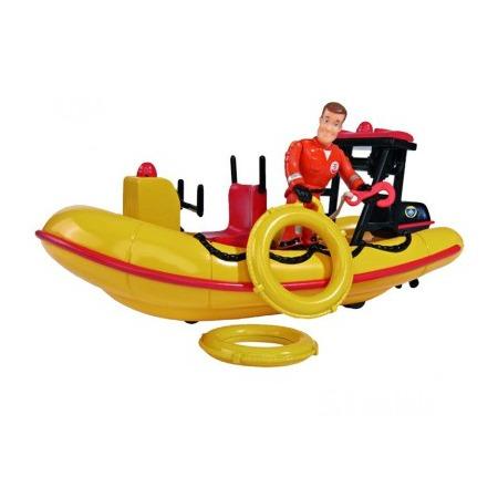 Купить Набор игровой для мальчика Simba с фигуркой «Лодка спасателей»
