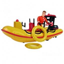 фото Набор игровой для мальчика Simba с фигуркой «Лодка спасателей»