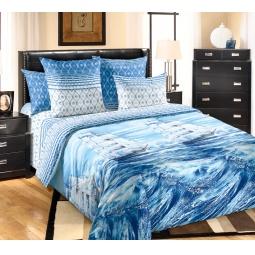 фото Комплект постельного белья Королевское Искушение «Белый парус». 1,5-спальный