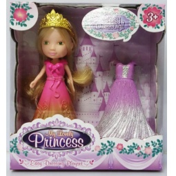 фото Кукла с аксессуарами Doll Dak «Мона с платьями»