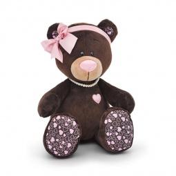 фото Мягкая игрушка Choco&Milk «Медведь девочка сидячая» Milk