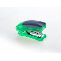 фото Степлер Office Force Stand up Mini. Цвет: зеленый. Количество пробиваемых листов 80 г/м²: 10