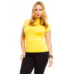 фото Водолазка Mondigo XL 037. Цвет: желтый. Размер одежды: 48