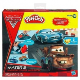 фото Набор пластилина Play-Doh Тачки 2. Секретная Операция
