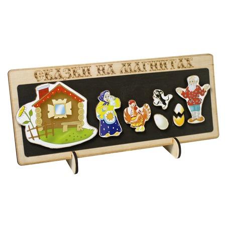 Купить Доска магнитная для ребенка БЭМБИ «Сказки на магнитах. Курочка Ряба»