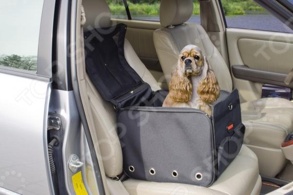Сумка-переноска DEZZIE 5629003 клетки для перевозки собак в машине недорого