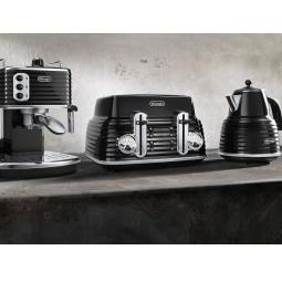 фото Набор приборов для завтрака DeLonghi ECZ 351 BK, CTZ2103 BK, KBZ2001BK
