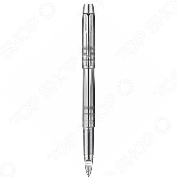 Ручка 5-й пишущий узел Parker IM Premium F522 Shiny Chrome