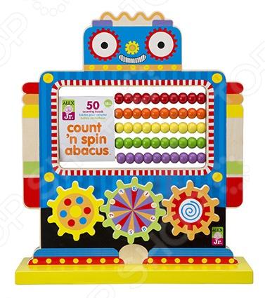 Игрушка развивающая для малыша Alex со счетами «Робот»