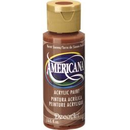 фото Краска акриловая DecoArt Премиум Americana. Цвет: жженая охра
